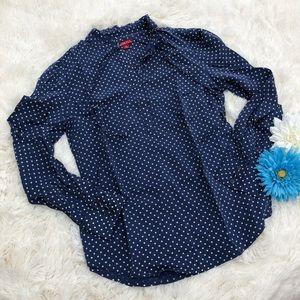 Merona Favorite Shirt with Polka Dot Print